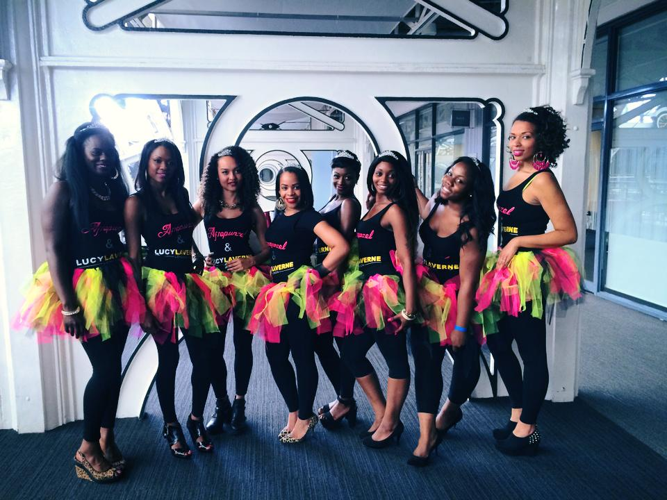 Amongst the ranks of my fellow models at the Afro Hair and Beauty Show LIVE
