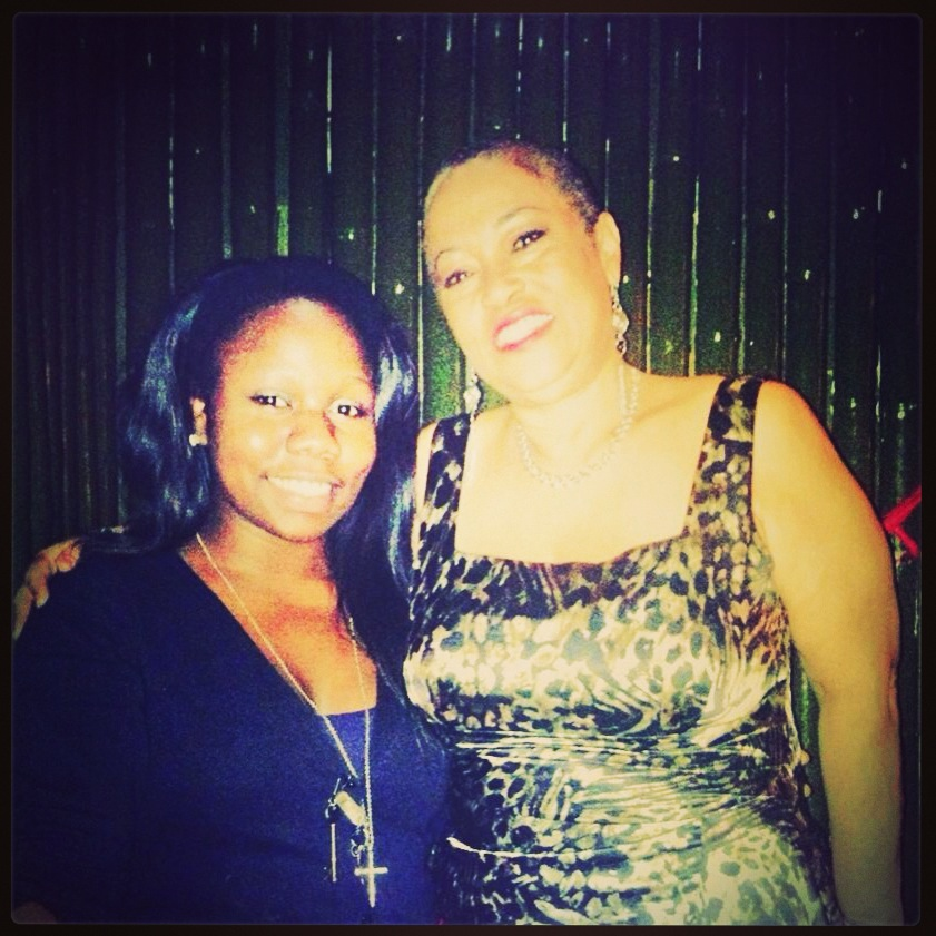 Myself and Celebrated Journo-Makeup Artist Sherry Dixon