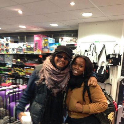Myself and Maxi Priest